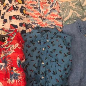 BUNDLE of Short Sleeve Button Downs
